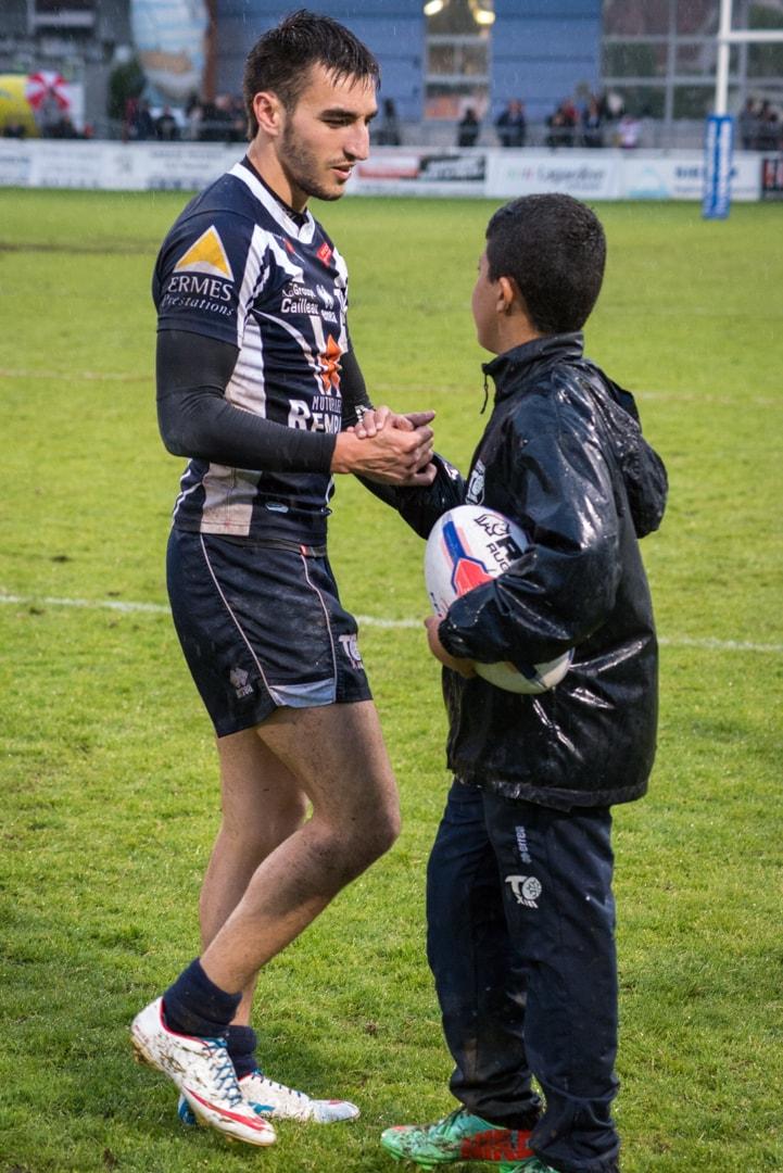 Photo de la demi finale du championnat de France de Rugby à XIII, Toulouse - Villeneuve 3