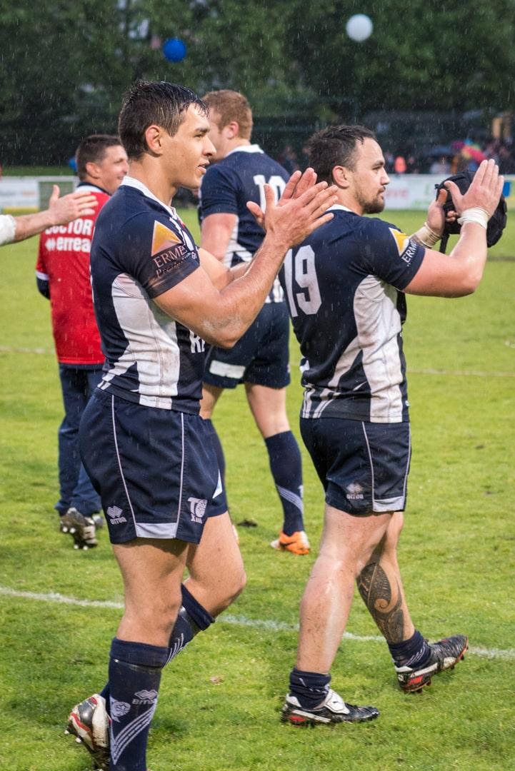 Photo de la demi finale du championnat de France de Rugby à XIII, Toulouse - Villeneuve 2