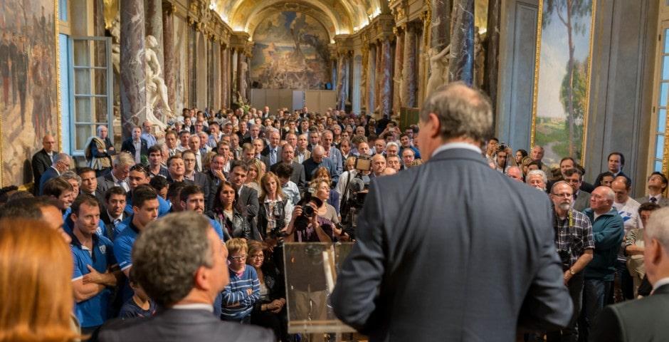 Photo du TOXIII à la mairie de Toulouse en présence du maire : Jean luc Moudenc 5