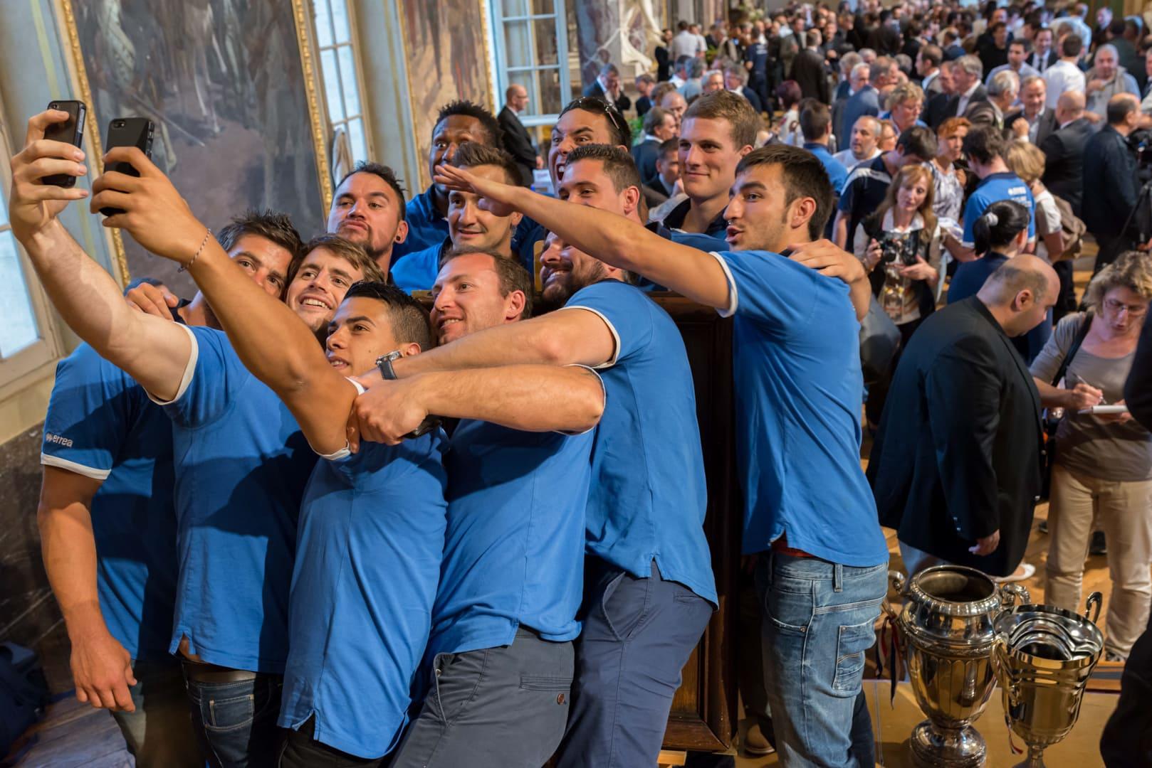 Photo du TOXIII à la mairie de Toulouse en présence du maire : Jean luc Moudenc 2
