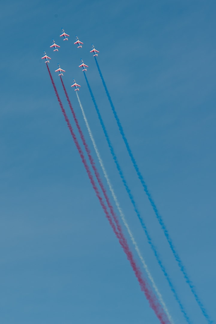 Photo de la patrouille de france n°44