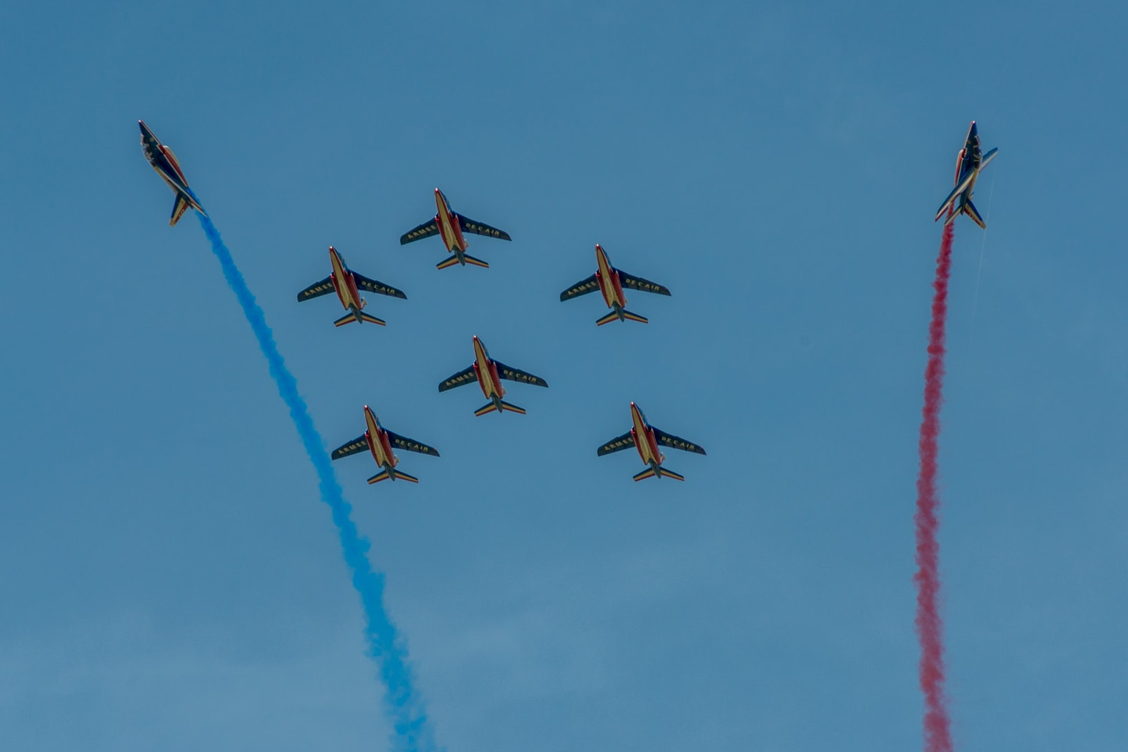 Photo de la patrouille de france n°42