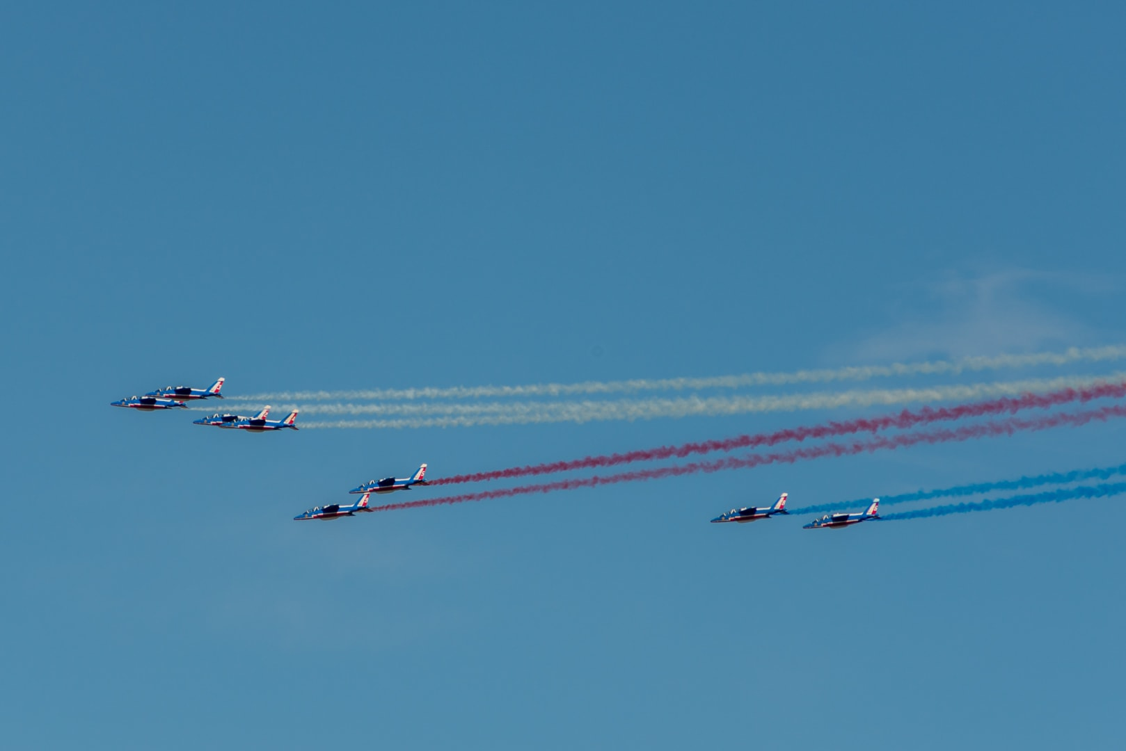 Photo de la patrouille de france n°40