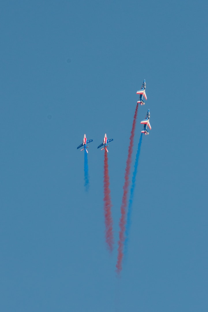 Photo de la patrouille de france n°38