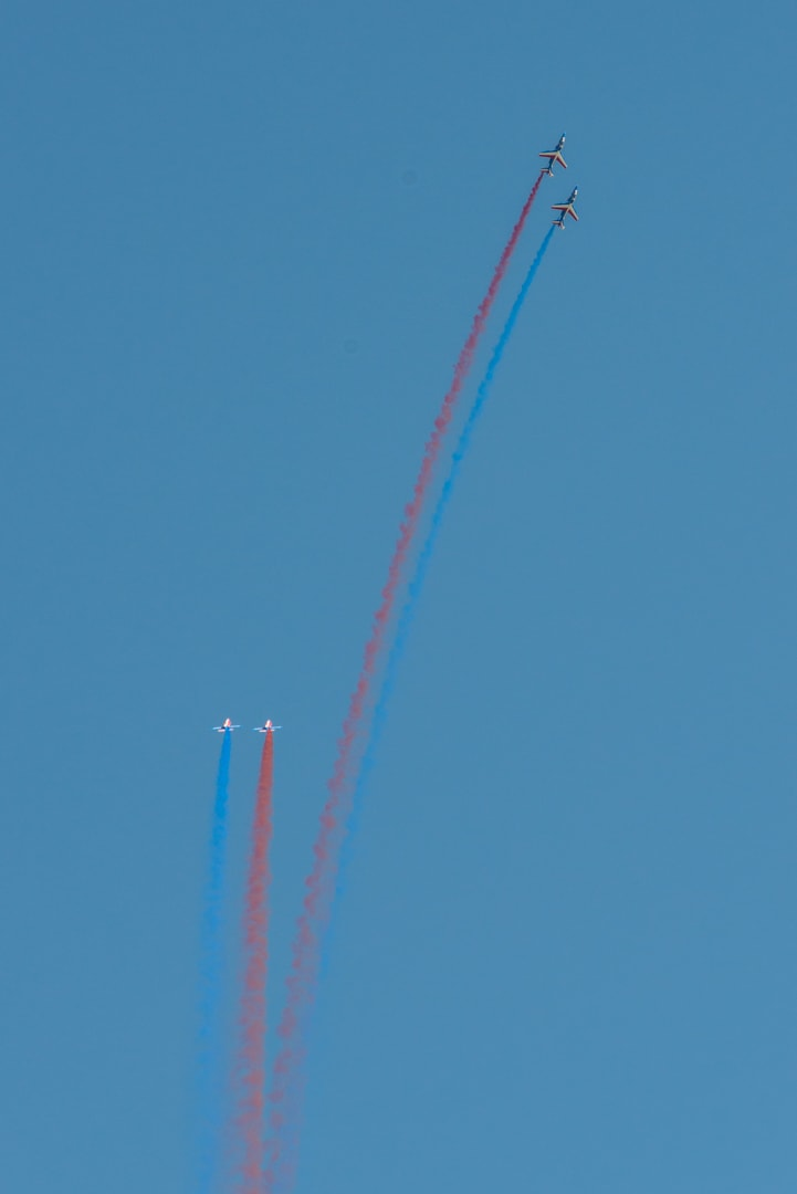 Photo de la patrouille de france n°37