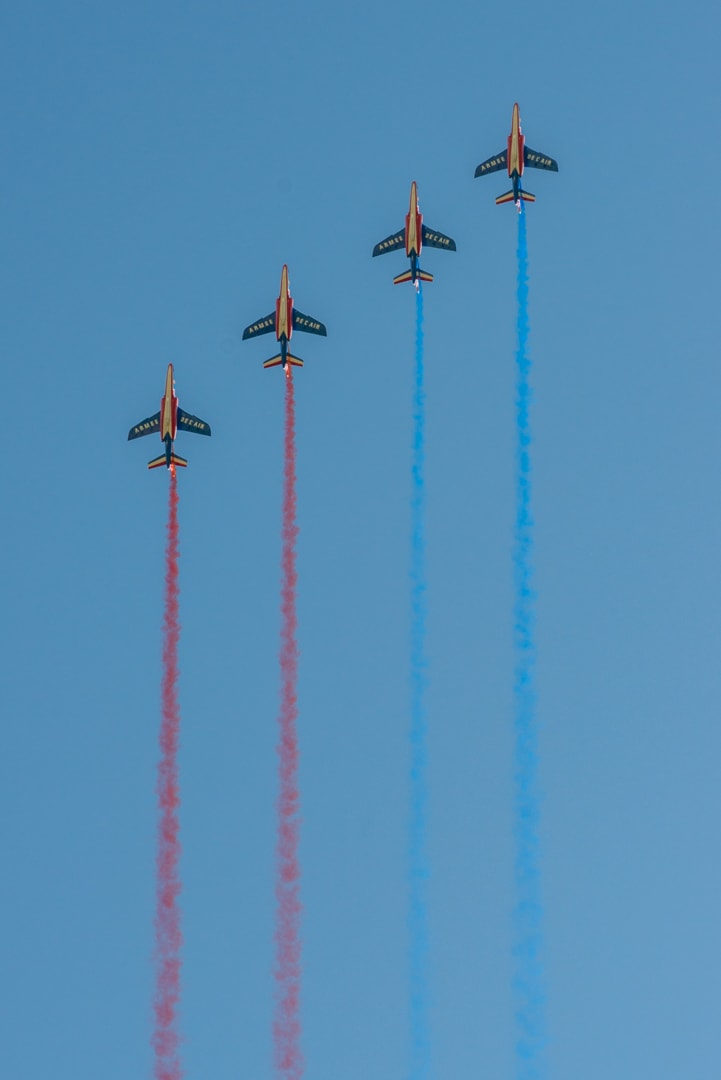 Photo de la patrouille de france n°35