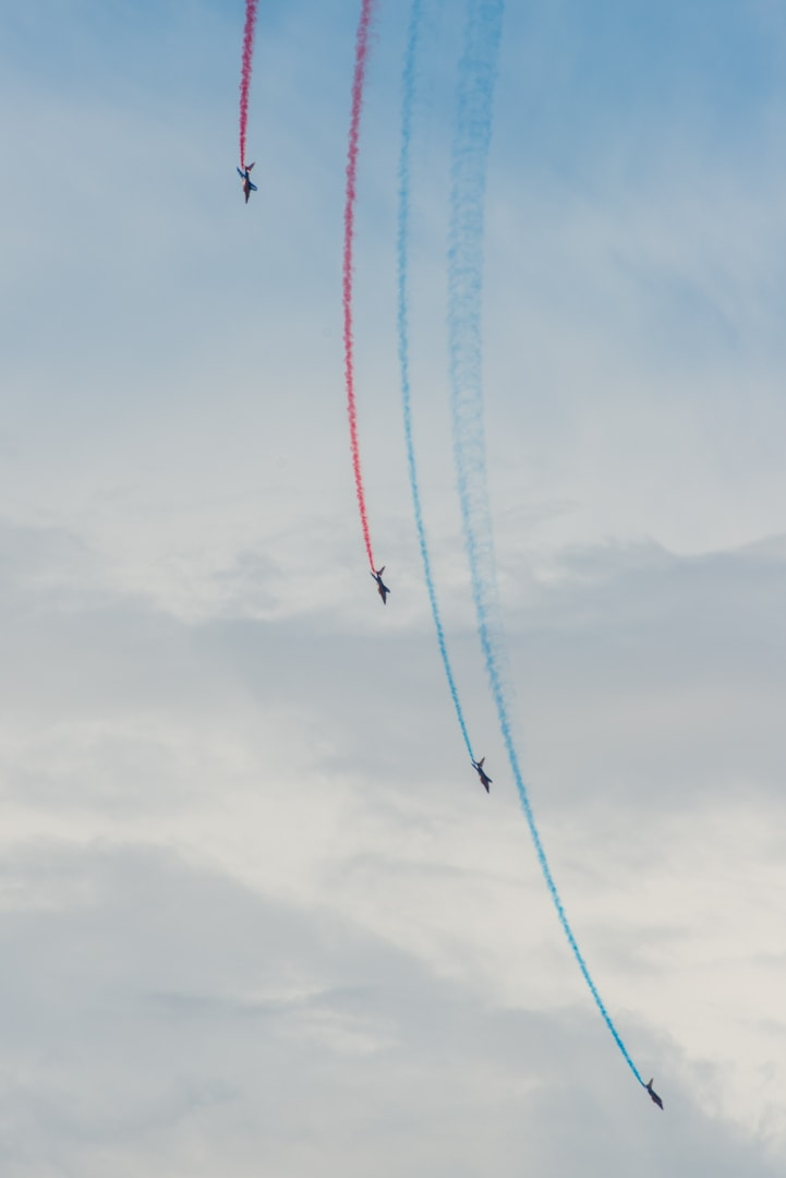 Photo de la patrouille de france n°34