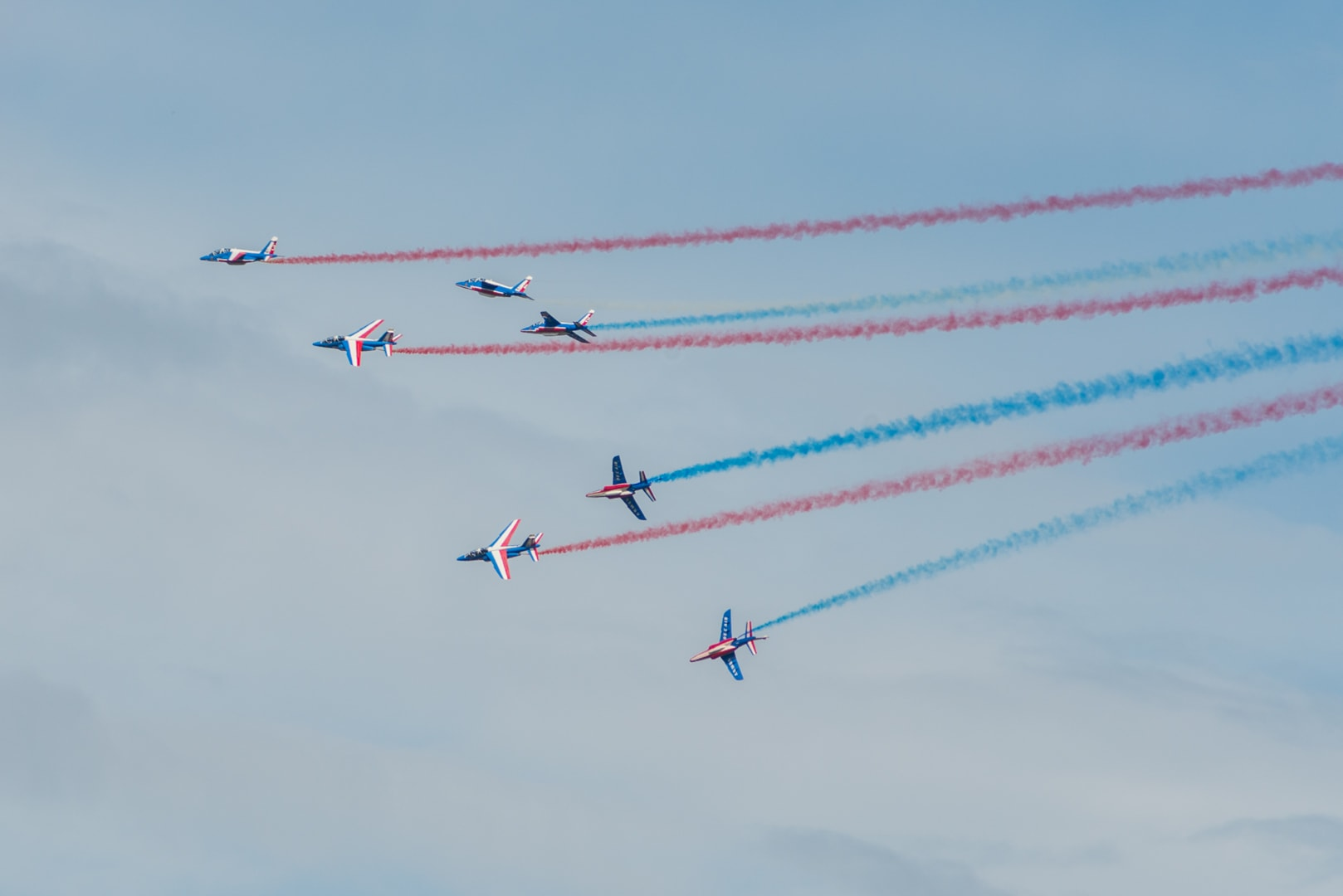 Photo de la patrouille de france n°30