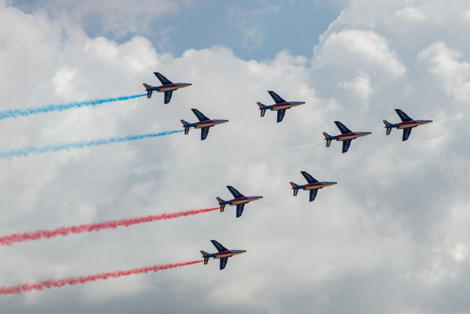 Photo de la patrouille de france n°27