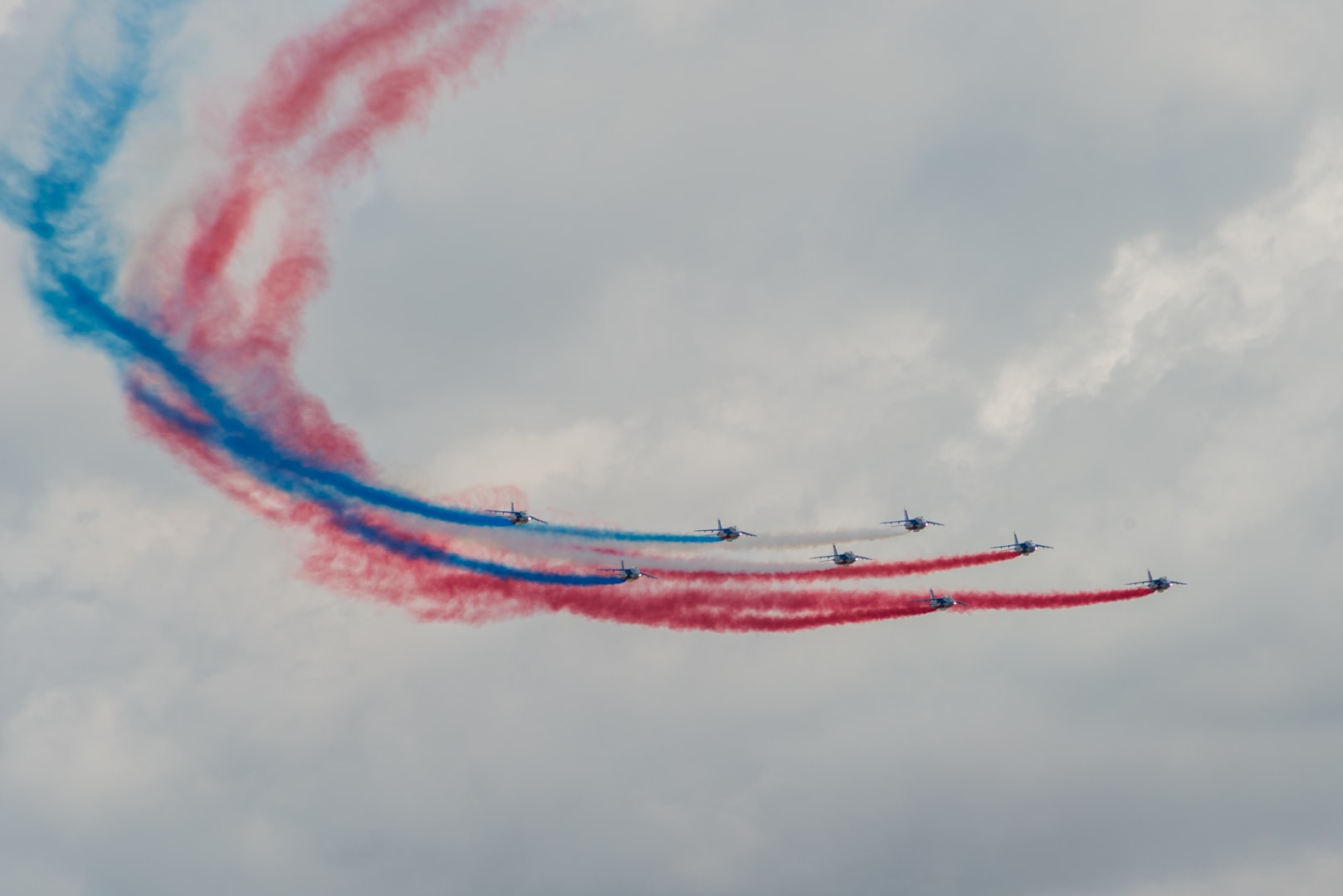 Photo de la patrouille de france n°25