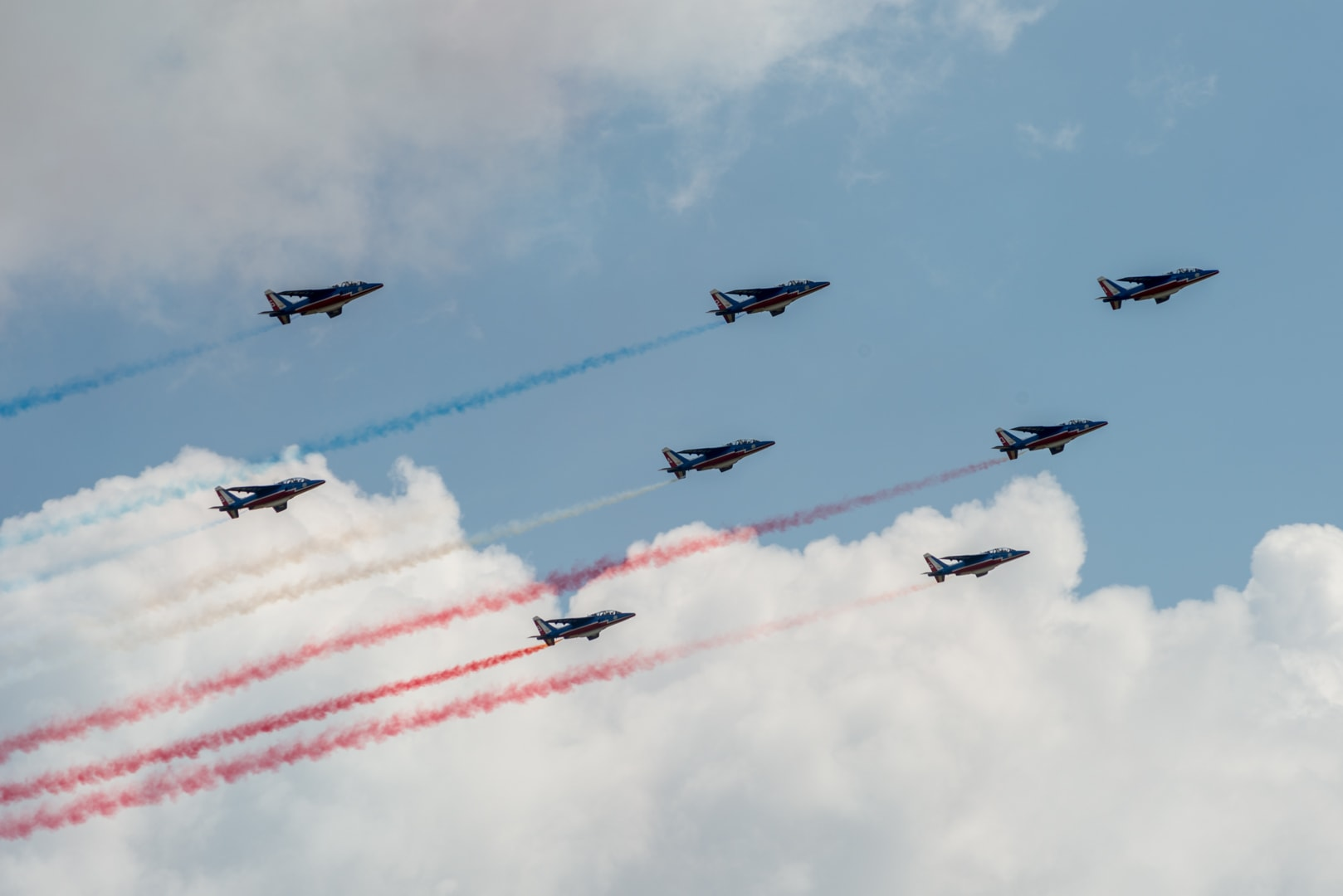 Photo de la patrouille de france n°24
