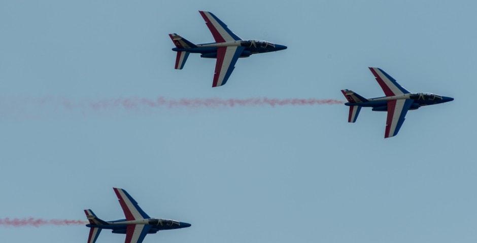 Photo de la patrouille de france n°23