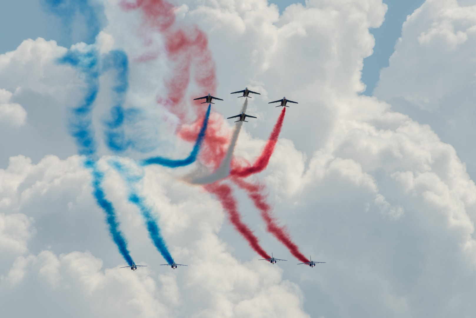 Photo de la patrouille de france n°22