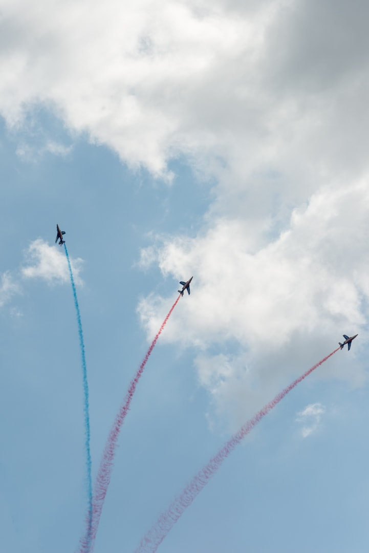 Photo de la patrouille de france n°21