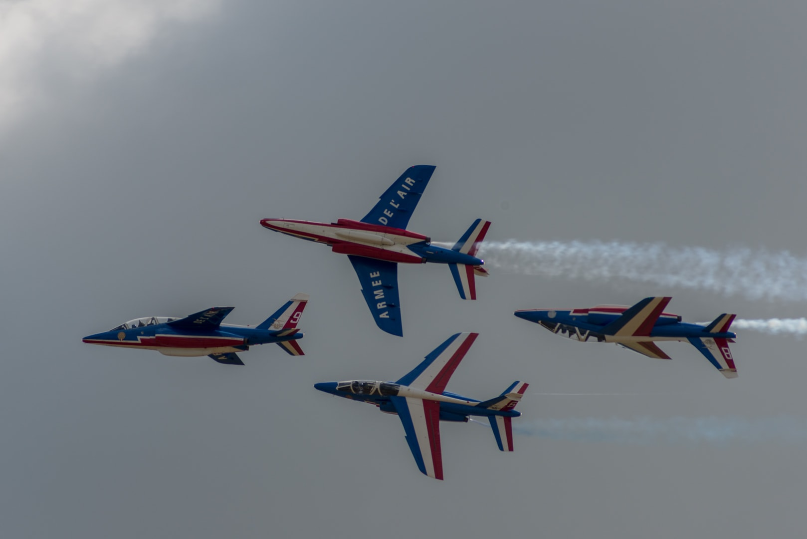 Photo de la patrouille de france n°13