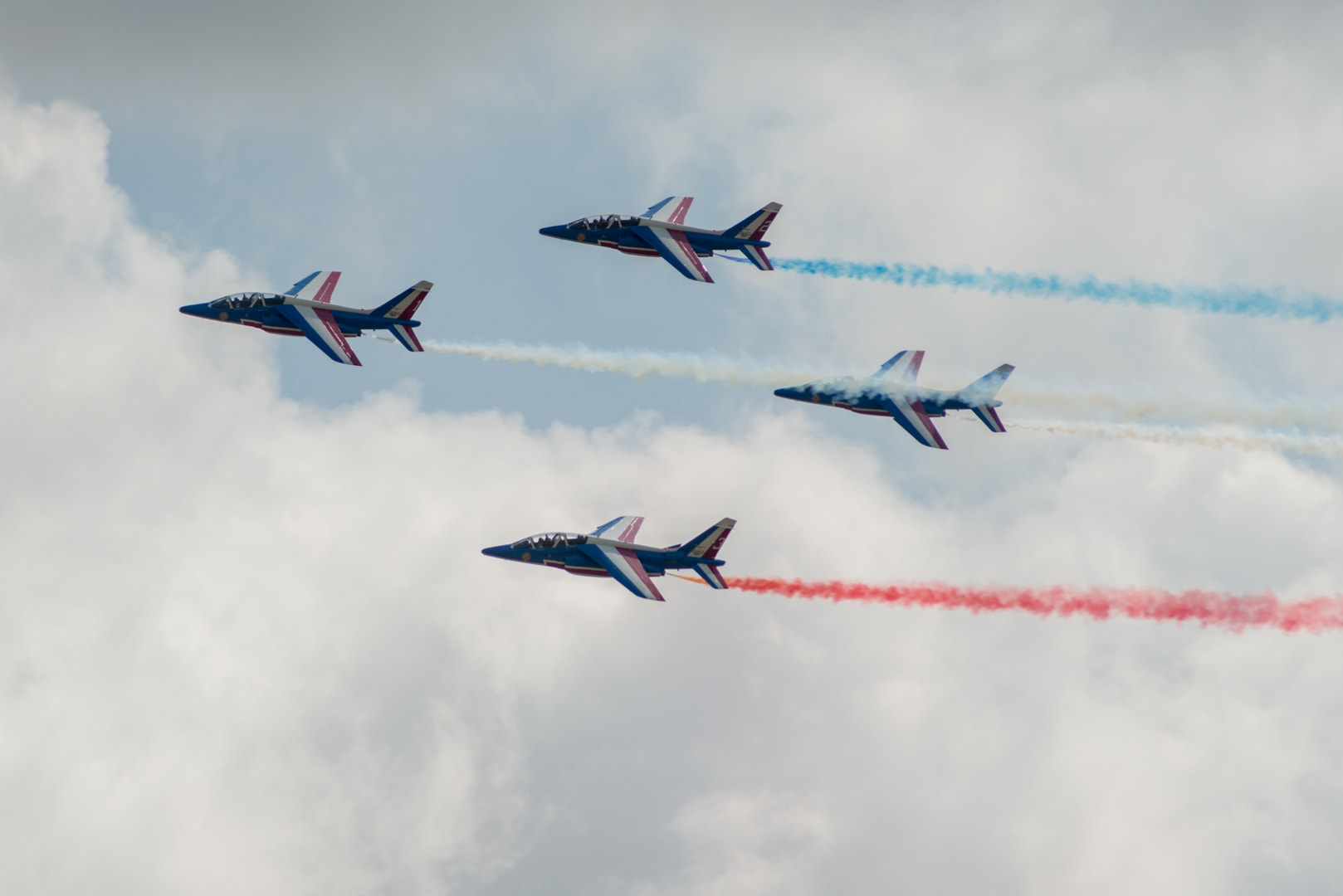Photo de la patrouille de france n°10