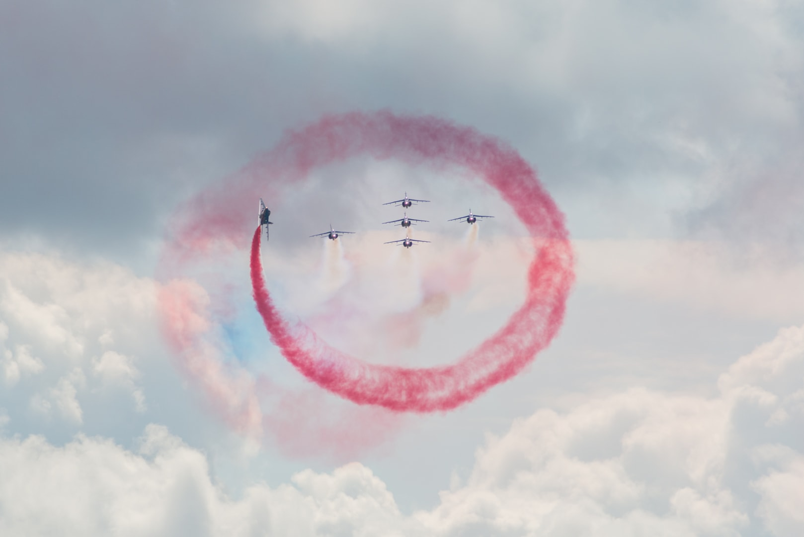 Photo de la patrouille de france n°7