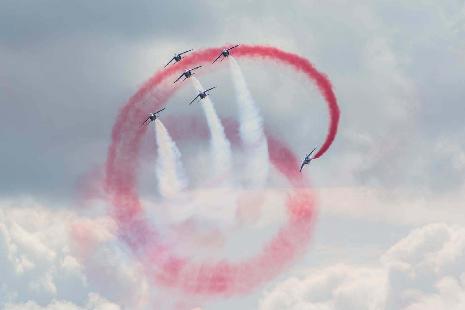 Photo de la patrouille de france n°6