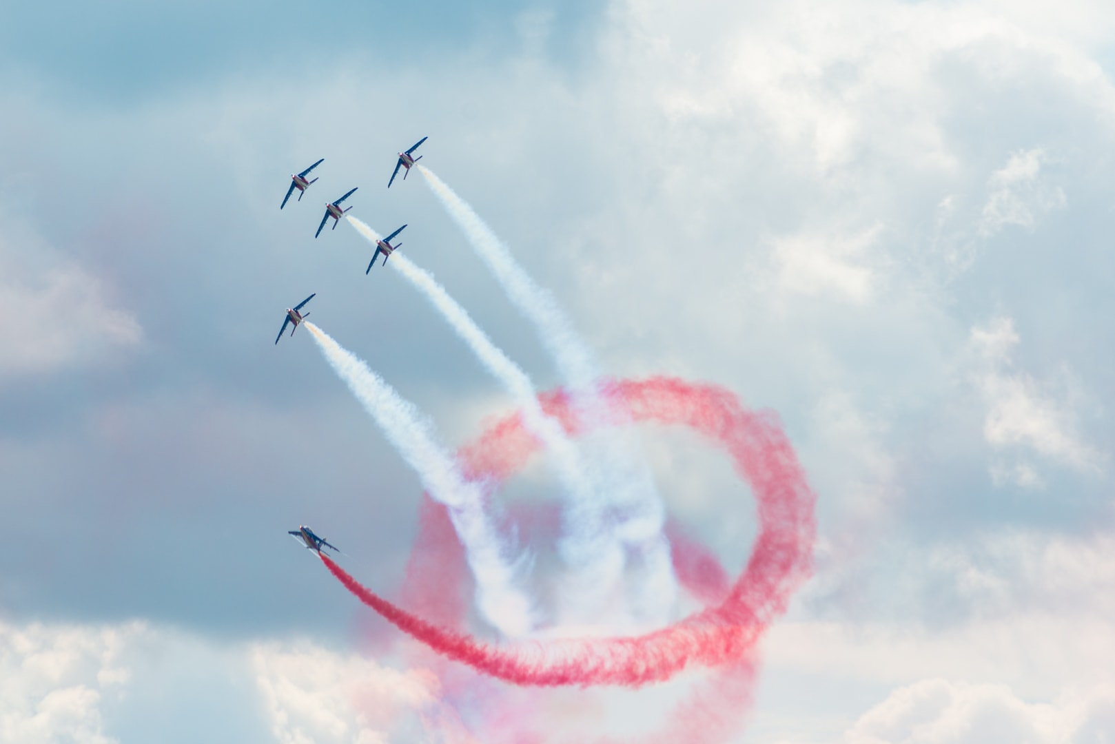 Photo de la patrouille de france n°5