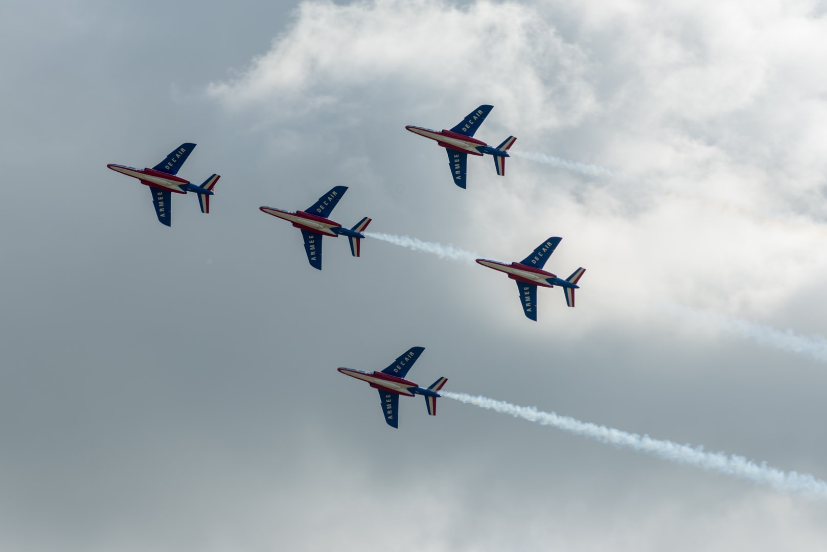 Photo de la patrouille de france n°4