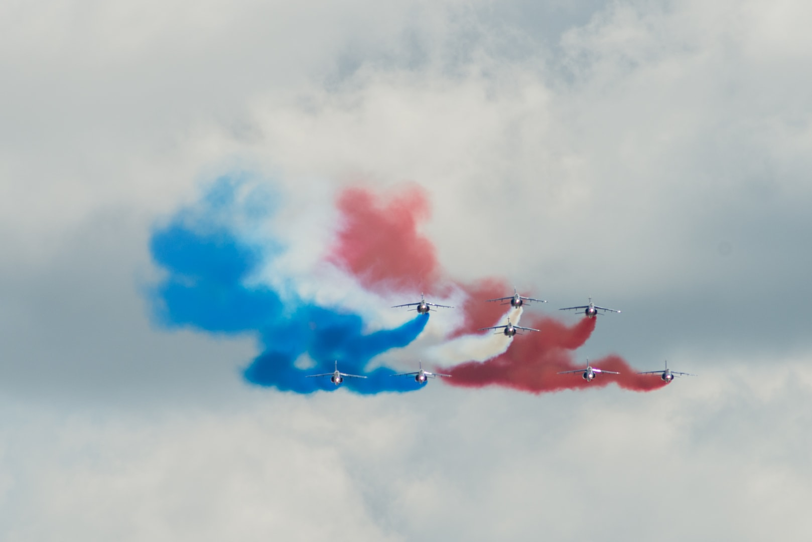Photo de la patrouille de france n°3