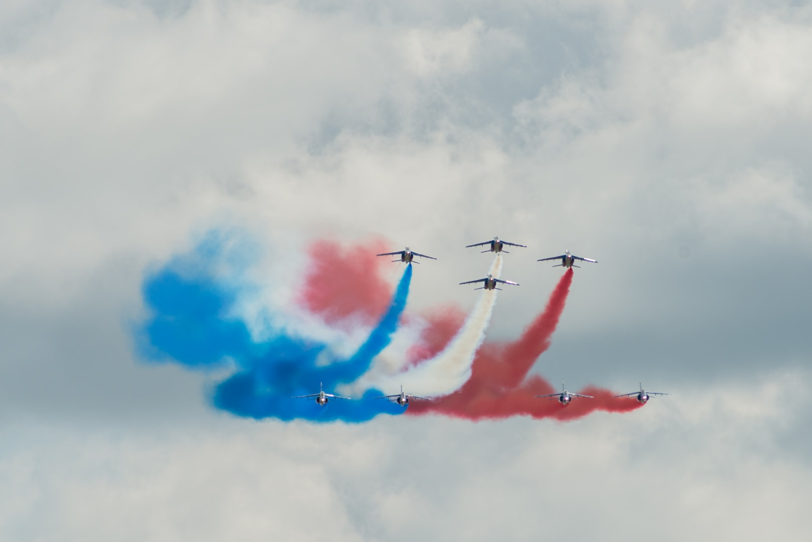 Photo de la patrouille de france n°2