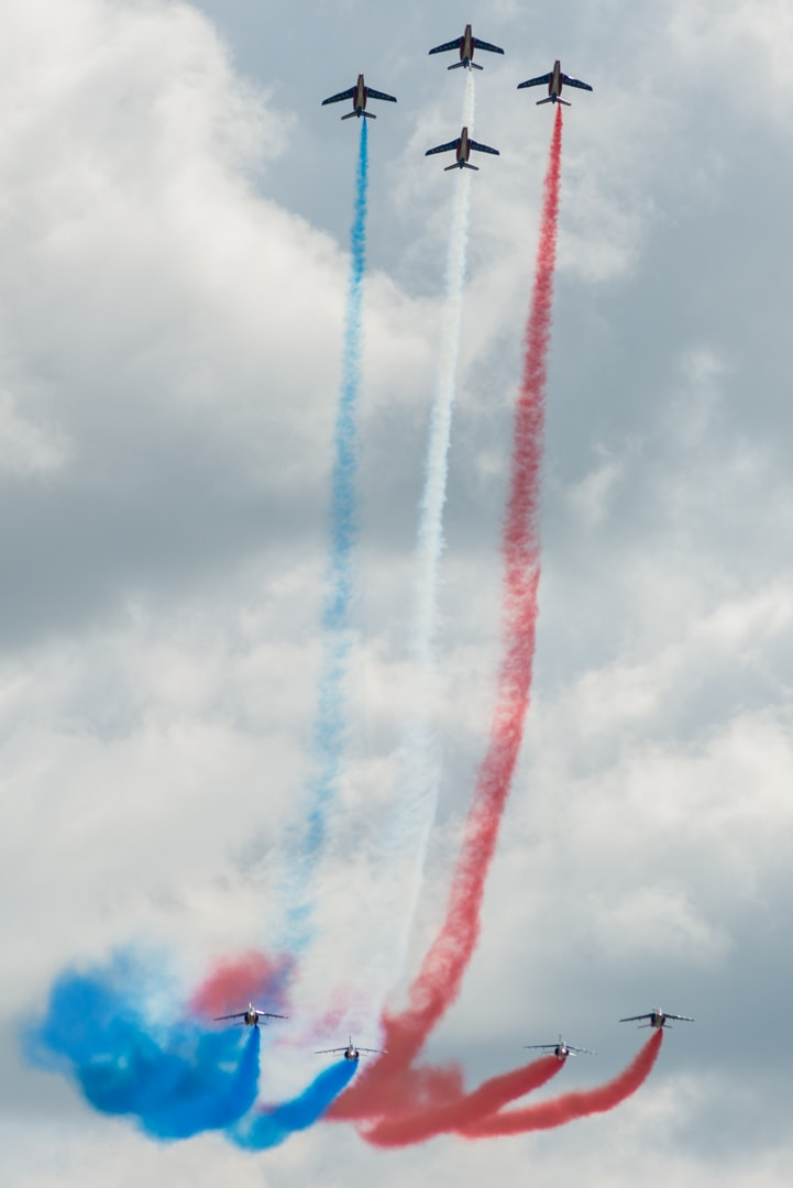 Photo de la patrouille de france