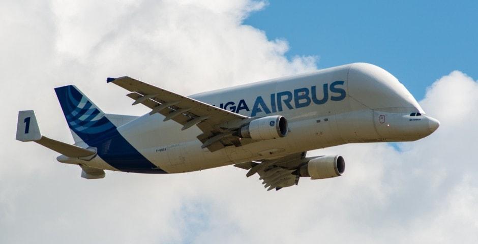Photo d'avion le Beluga de Airbus lors du meeting aérien sur Toulouse ( Lherm) 2