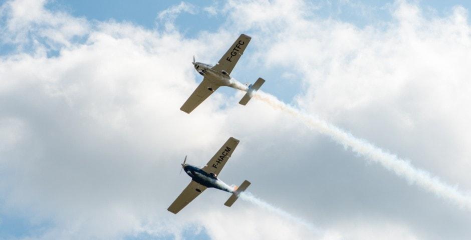 Photo d'avion lors du meeting aérien sur Toulouse ( Lherm) 11