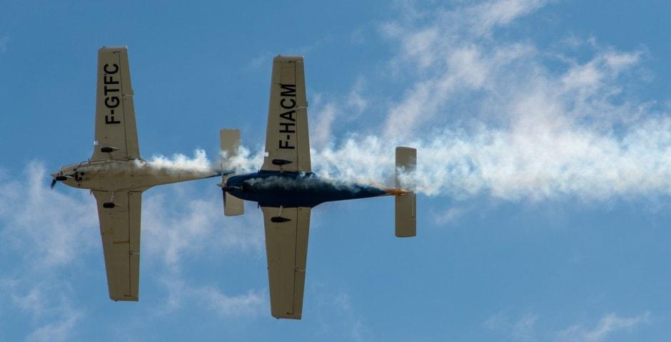 Photo d'avion lors du meeting aérien sur Toulouse ( Lherm) 10