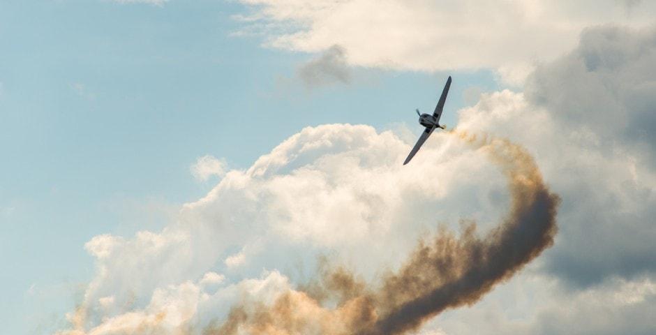 Photo d'avion lors du meeting aérien sur Toulouse ( Lherm)
