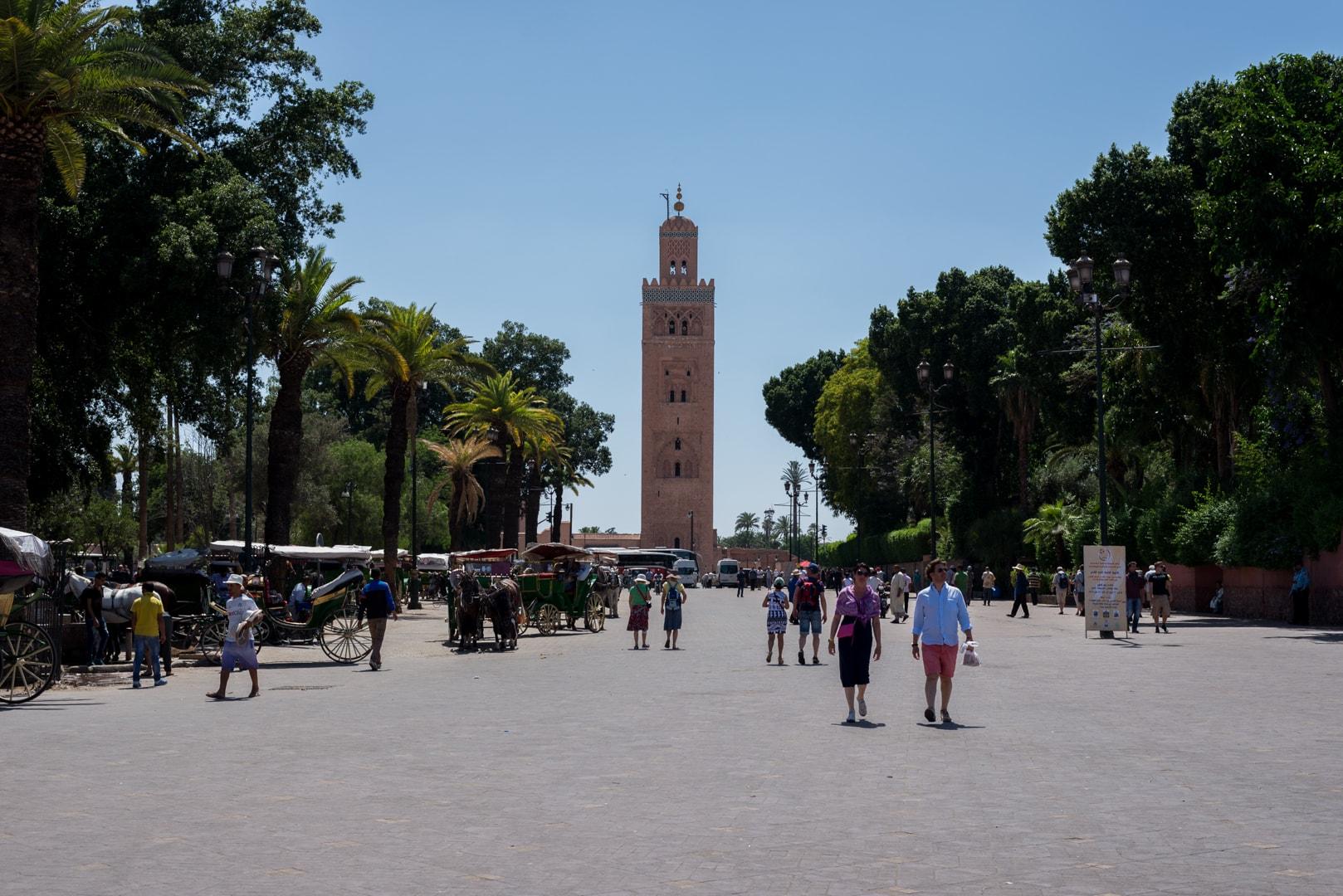 photo de la mosquée la Koutoubia à Marrakech Maroc 2