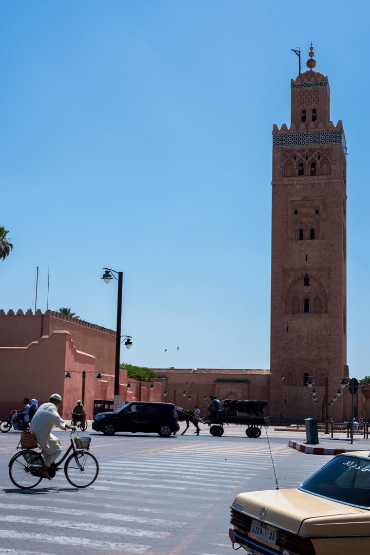 photo de la mosquée la Koutoubia à Marrakech Maroc