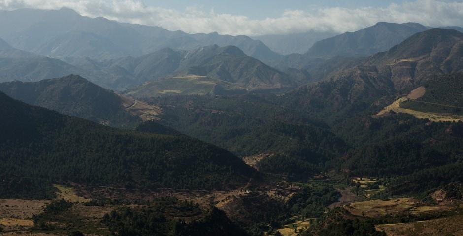 photo de l'Atlas prise lors d'un voyage au Maroc 12