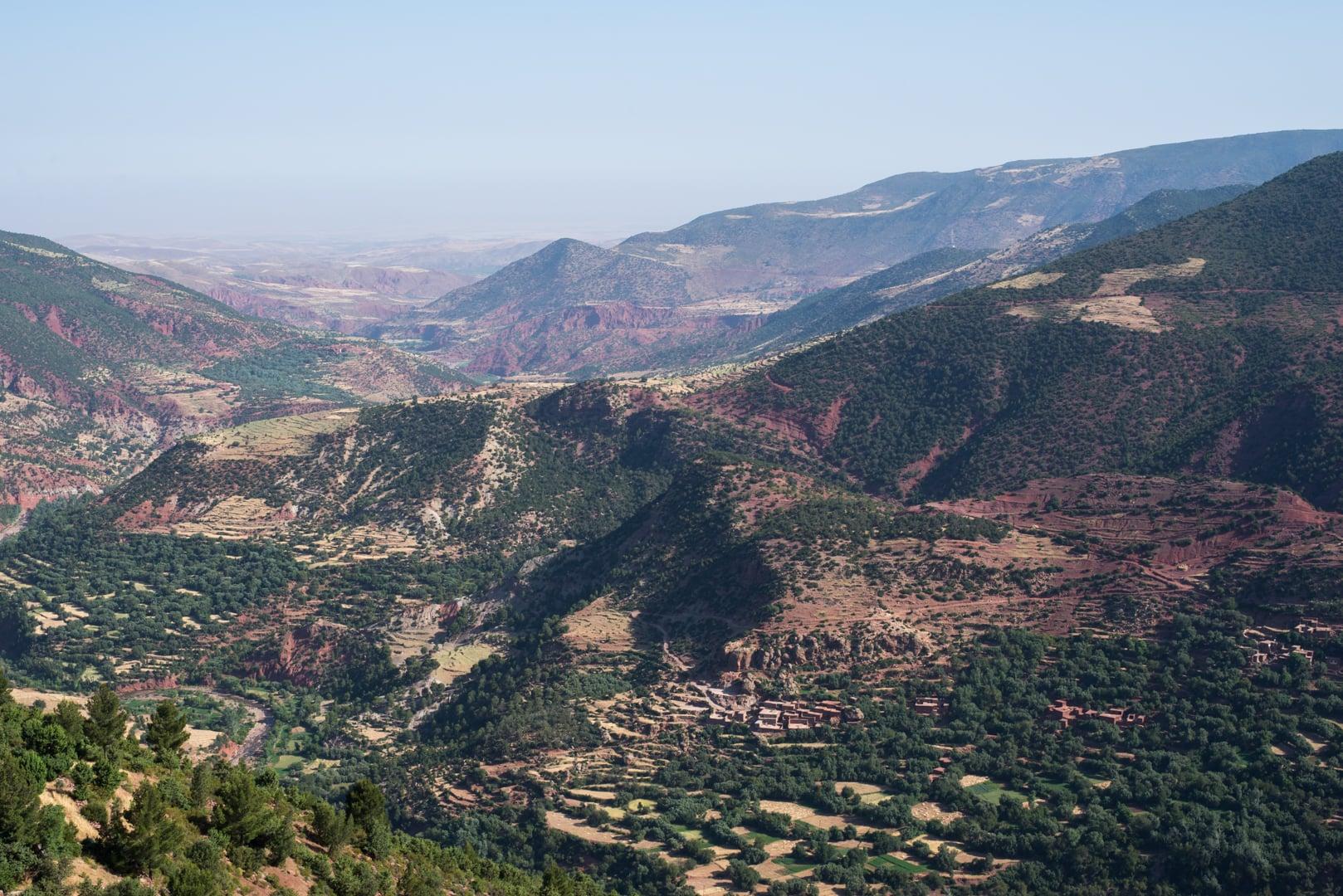photo de l'Atlas prise lors d'un voyage au Maroc 10
