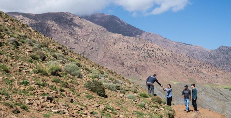 photo de l'Atlas prise lors d'un voyage au Maroc 7
