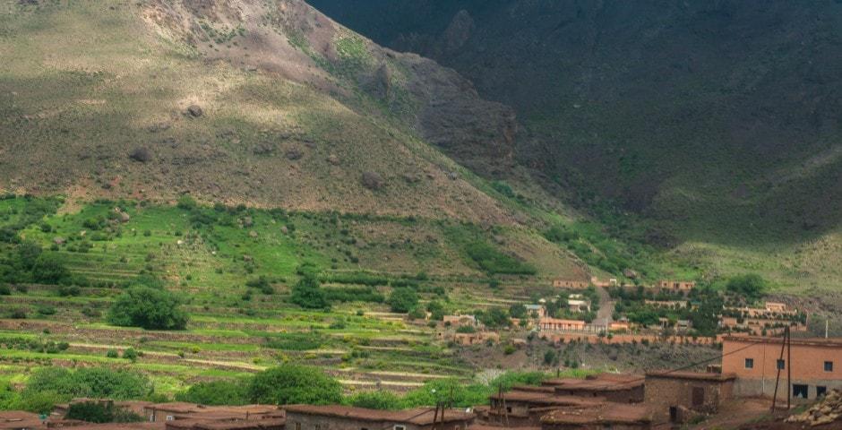 photo de l'Atlas prise lors d'un voyage au Maroc 3