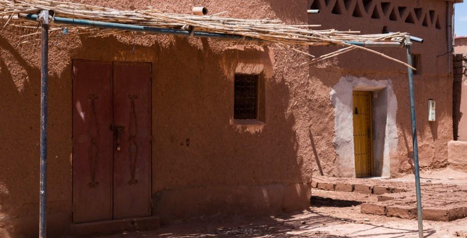 photo d'un village berbère à Ait Ben Haddou Maroc 11