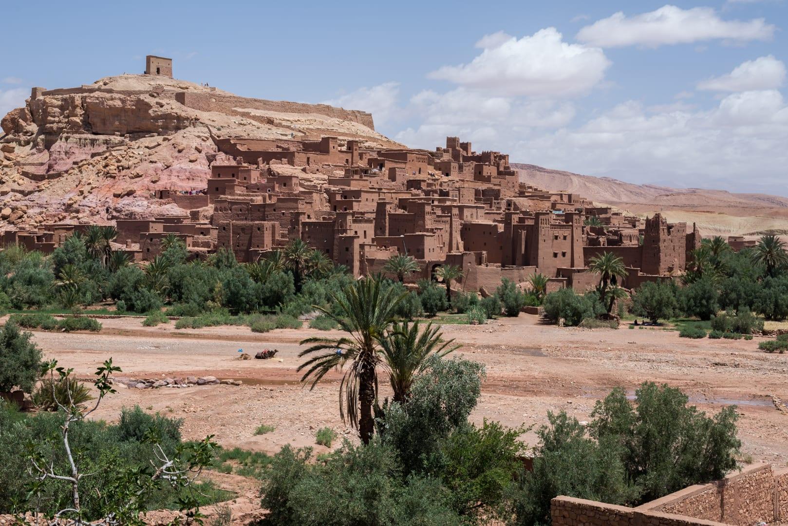 photo d'un village berbère à Ait Ben Haddou Maroc 10