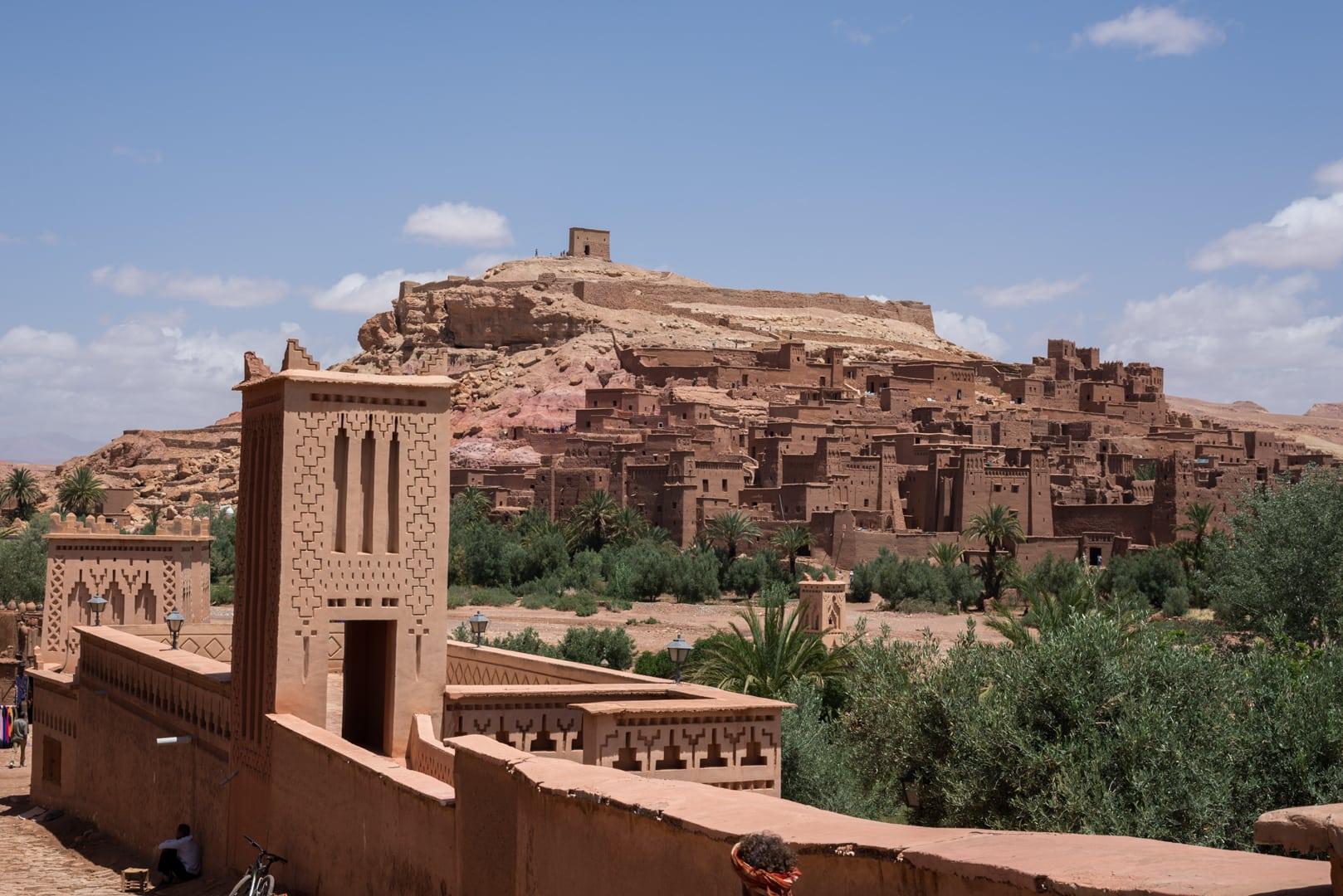 photo d'un village berbère à Ait Ben Haddou Maroc 9