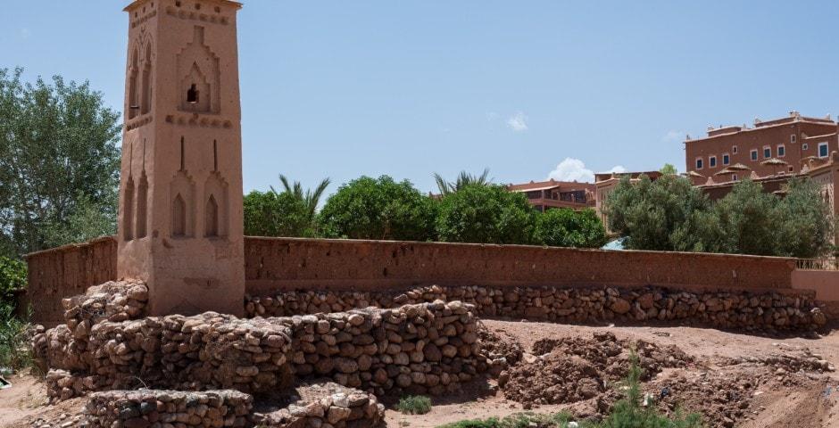 photo d'un village berbère à Ait Ben Haddou Maroc 8
