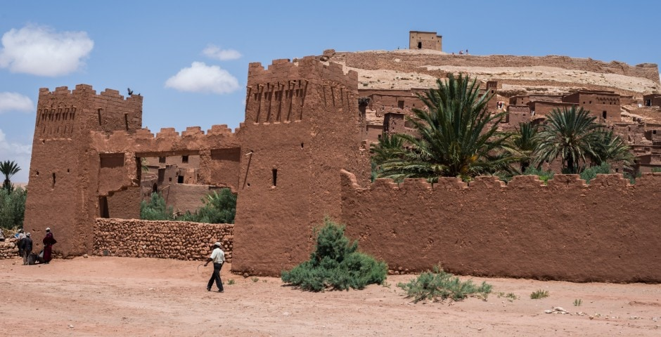 photo d'un village berbère à Ait Ben Haddou Maroc 7