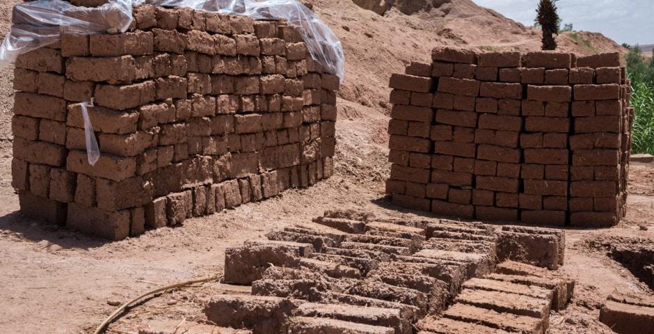 photo d'un village berbère à Ait Ben Haddou Maroc 6