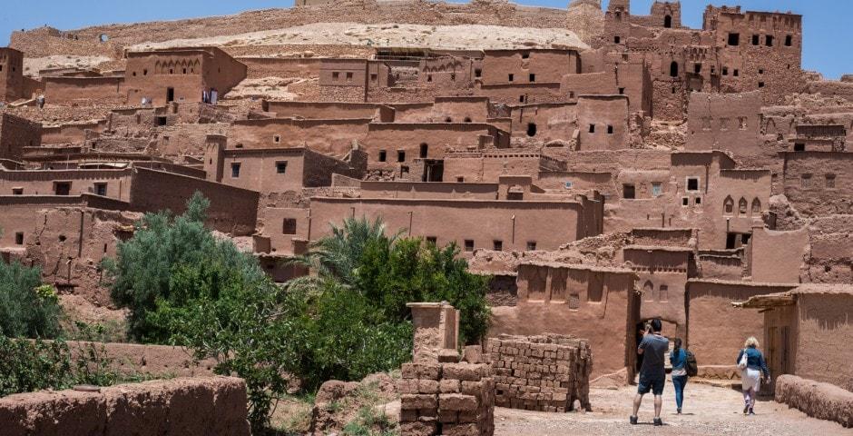 photo d'un village berbère à Ait Ben Haddou Maroc 4