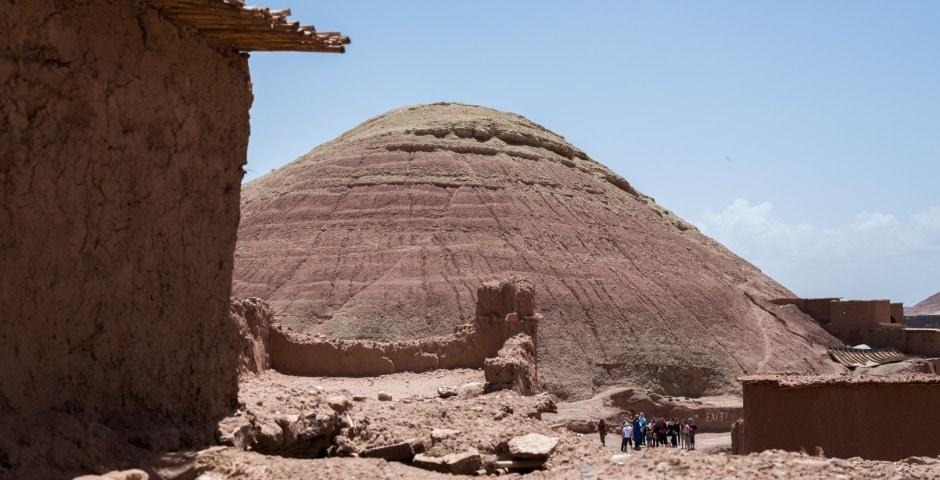 photo d'un village berbère à Ait Ben Haddou Maroc 3