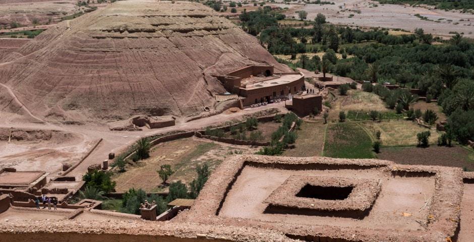 photo d'un village berbère à Ait Ben Haddou Maroc 2