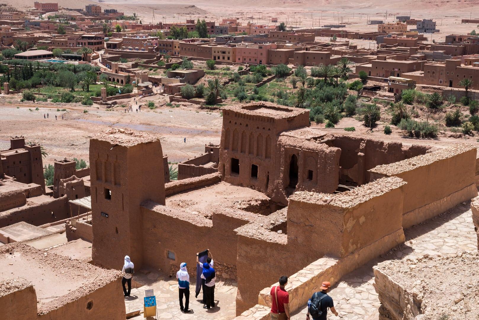 photo d'un village berbère à Ait Ben Haddou Maroc 1