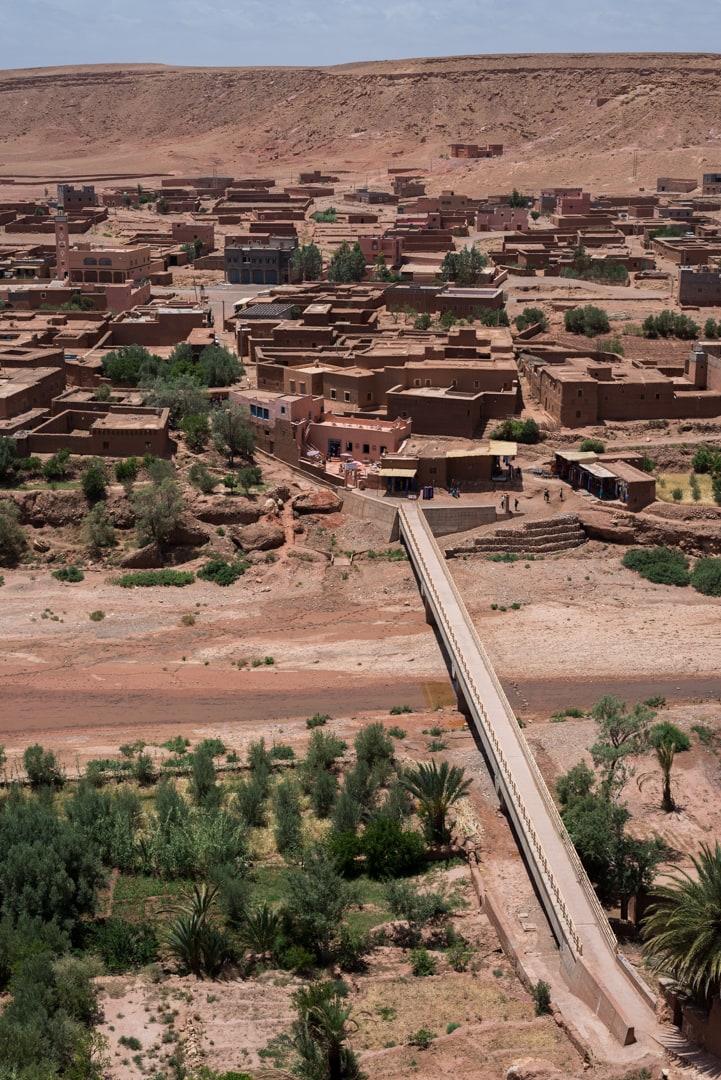 photo d'un village berbère à Ait Ben Haddou Maroc