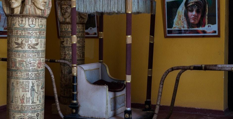 photo du musée de cinéma de Ouarzazate voyage au Maroc 3