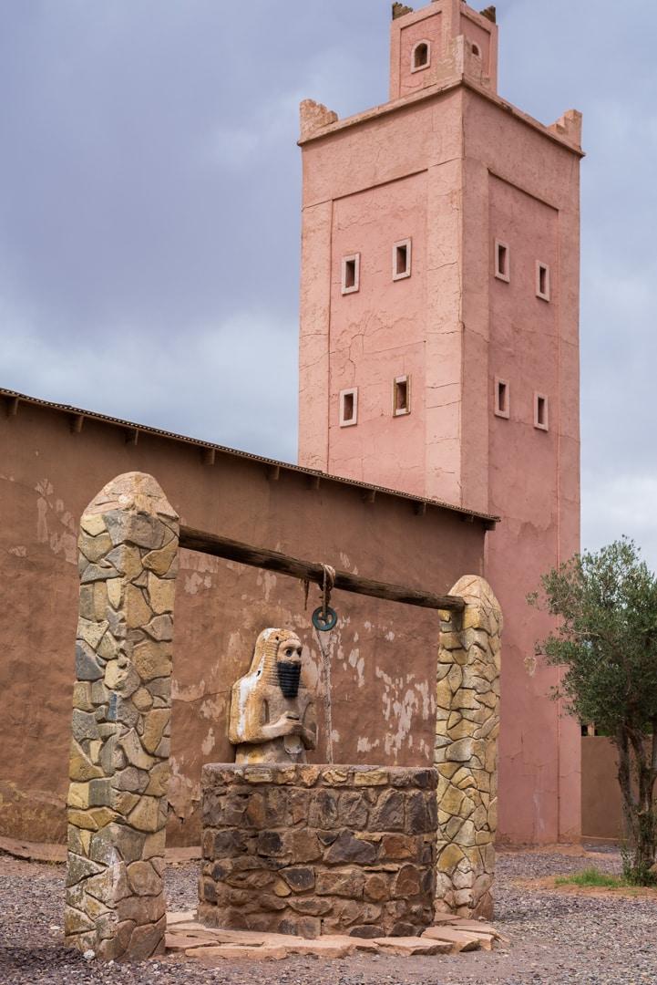 photo du musée de cinéma de Ouarzazate voyage au Maroc